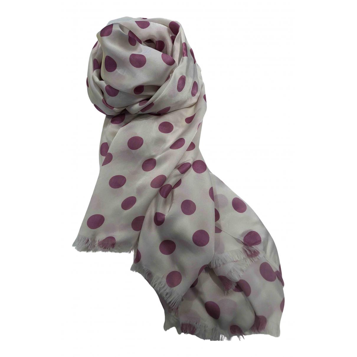Faliero Sarti - Foulard   pour femme en soie - blanc