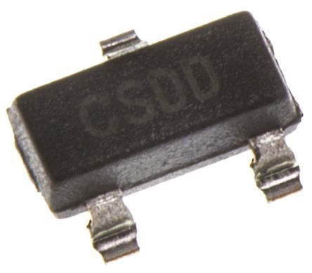 Intersil ISL21010DFH310Z-T7A, Fixed Series Voltage Reference 1.024V, ±0.2 % 3-Pin, SOT-23 (5)