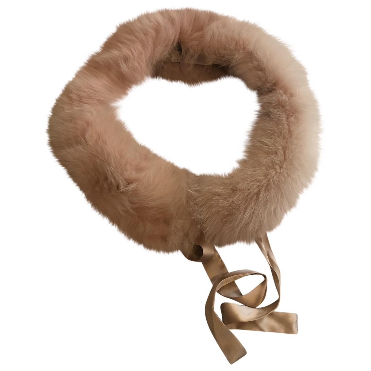 Marc Cain \N Pink Fox scarf for Women \N