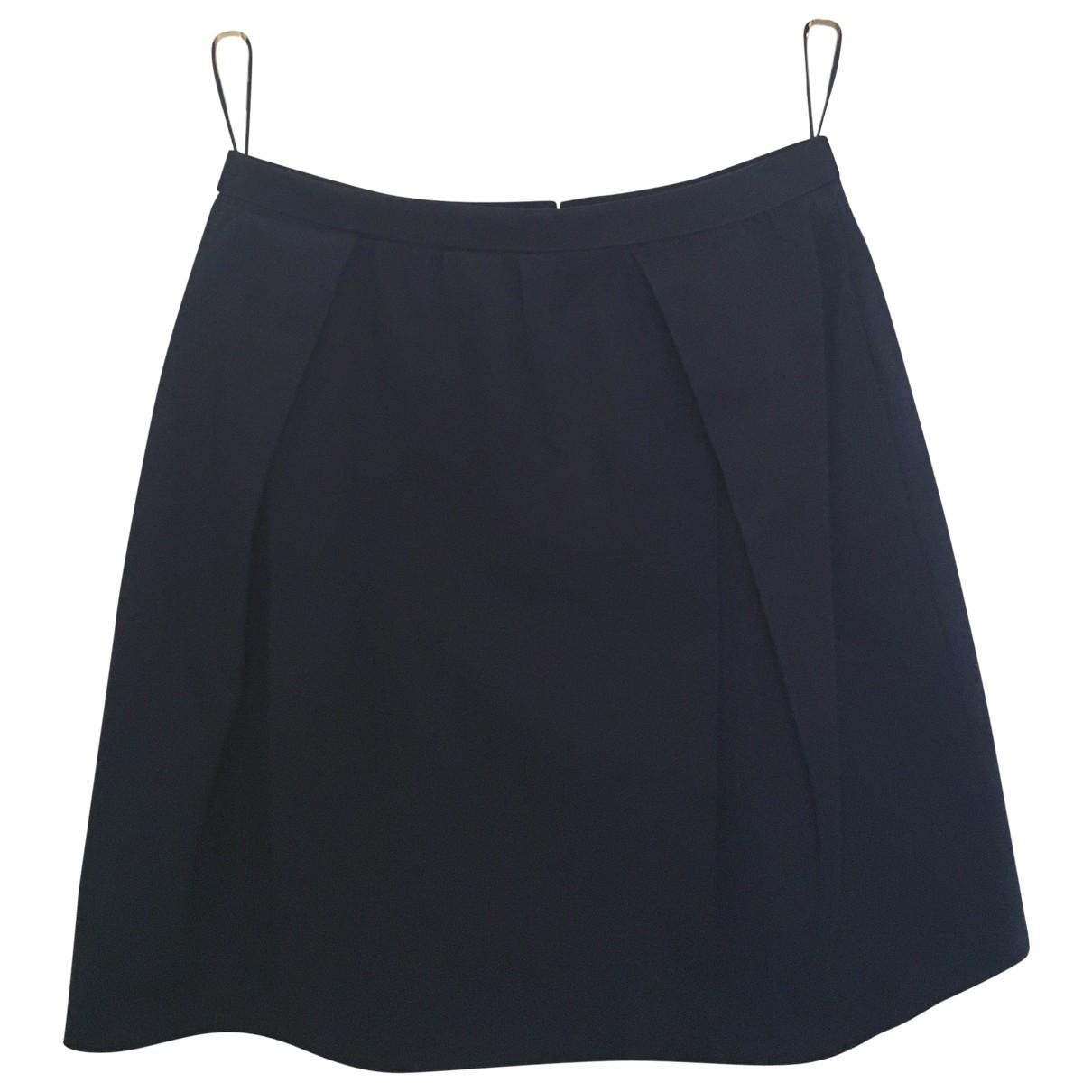 Carven \N Navy Cotton skirt for Women 36 FR