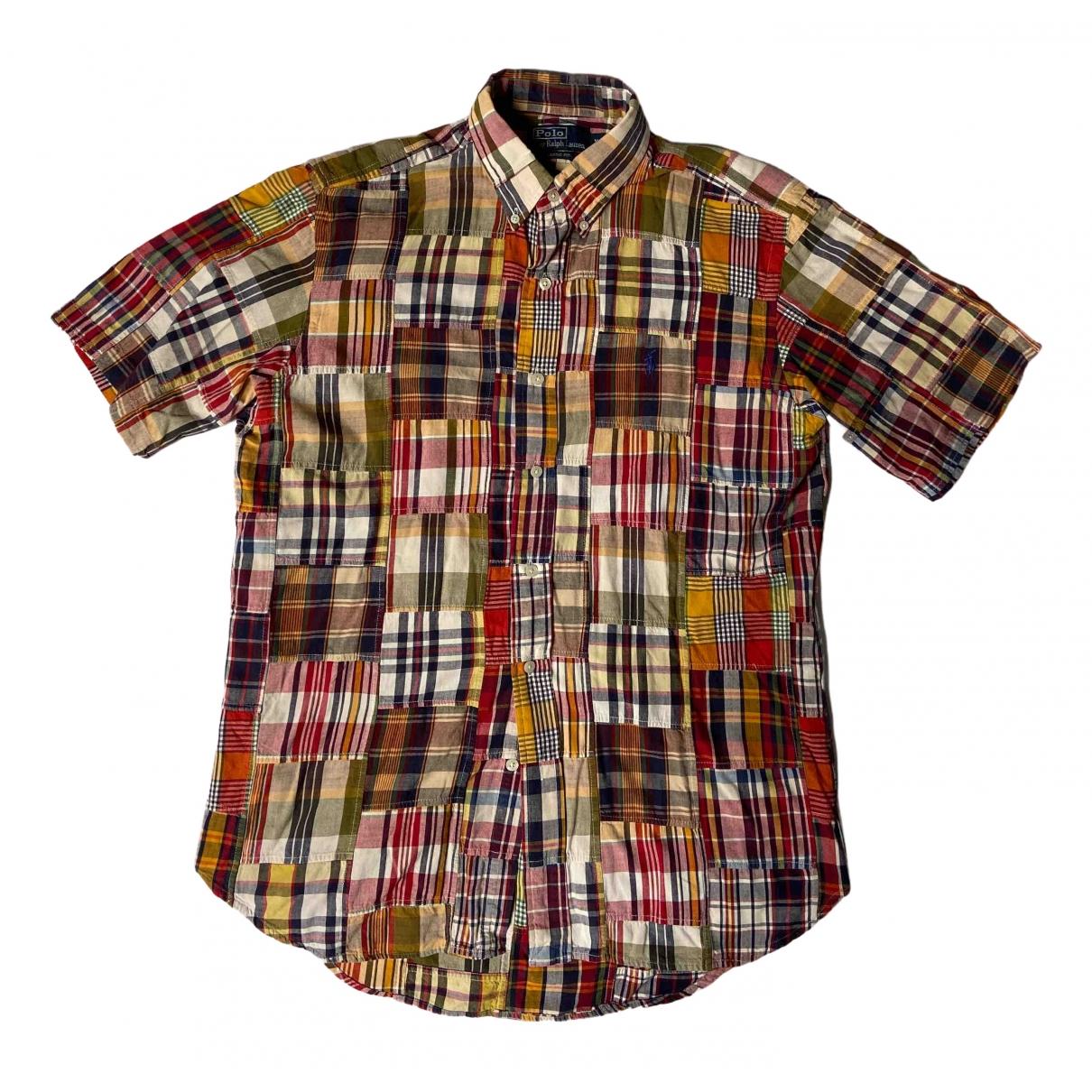 Polo Ralph Lauren - Chemises   pour homme en coton - multicolore