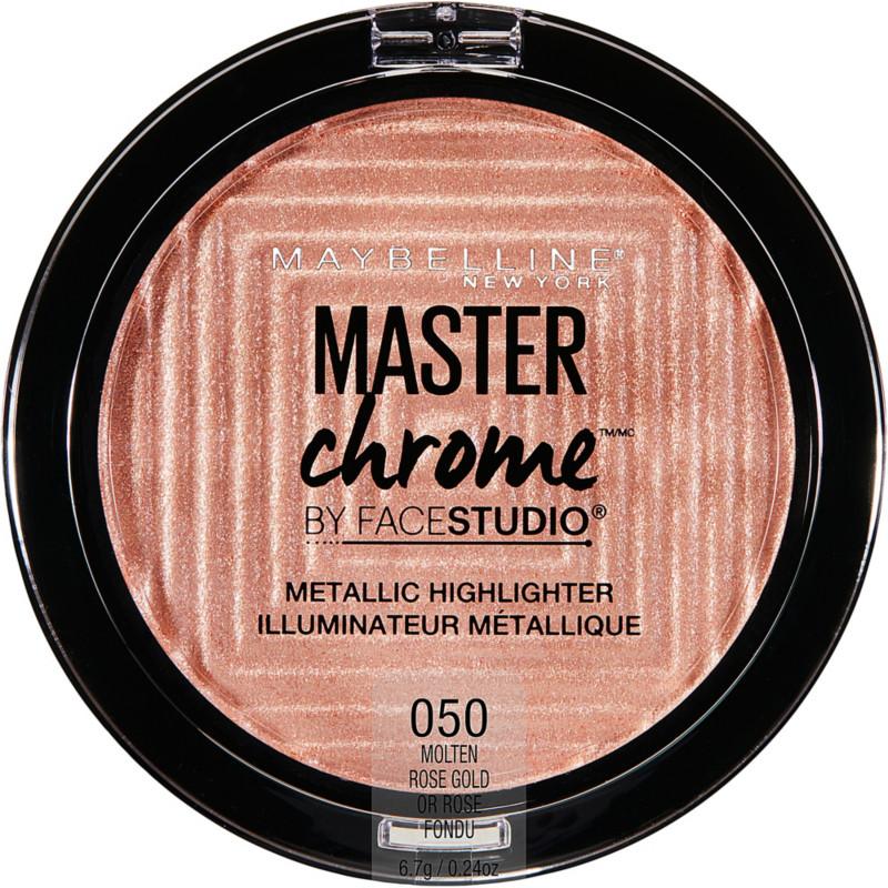 FaceStudio Master Chrome Metallic Highlighter - Molten Rose Gold
