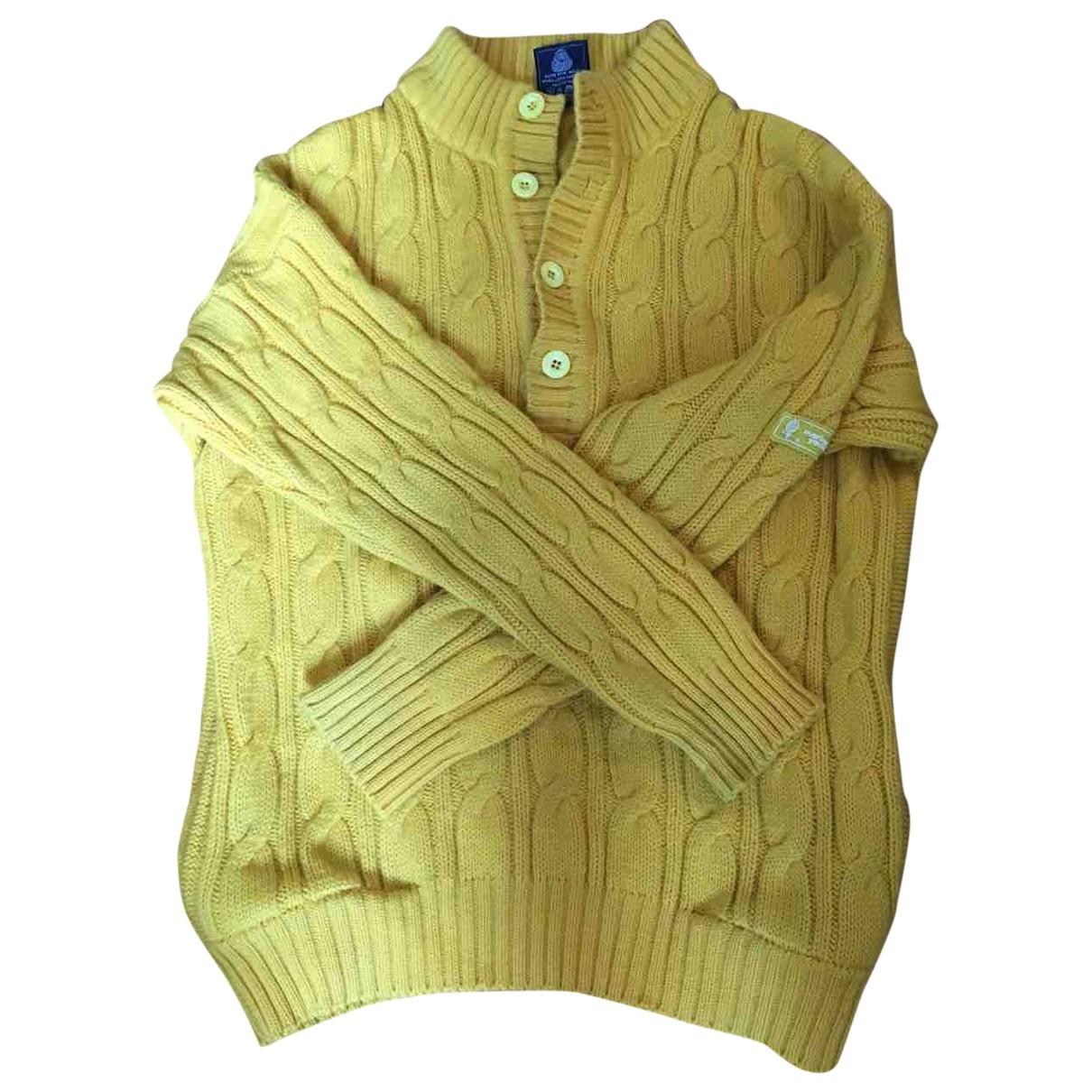 Marina Yachting \N Yellow Wool Knitwear for Women XL International