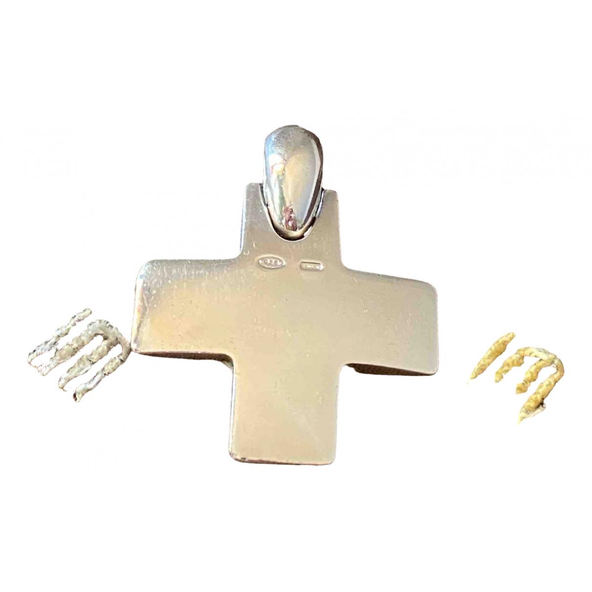 Pomellato \N Anhaenger in  Silber Silber