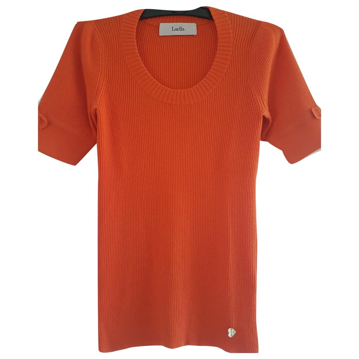 Luella - Pull   pour femme en cachemire - orange