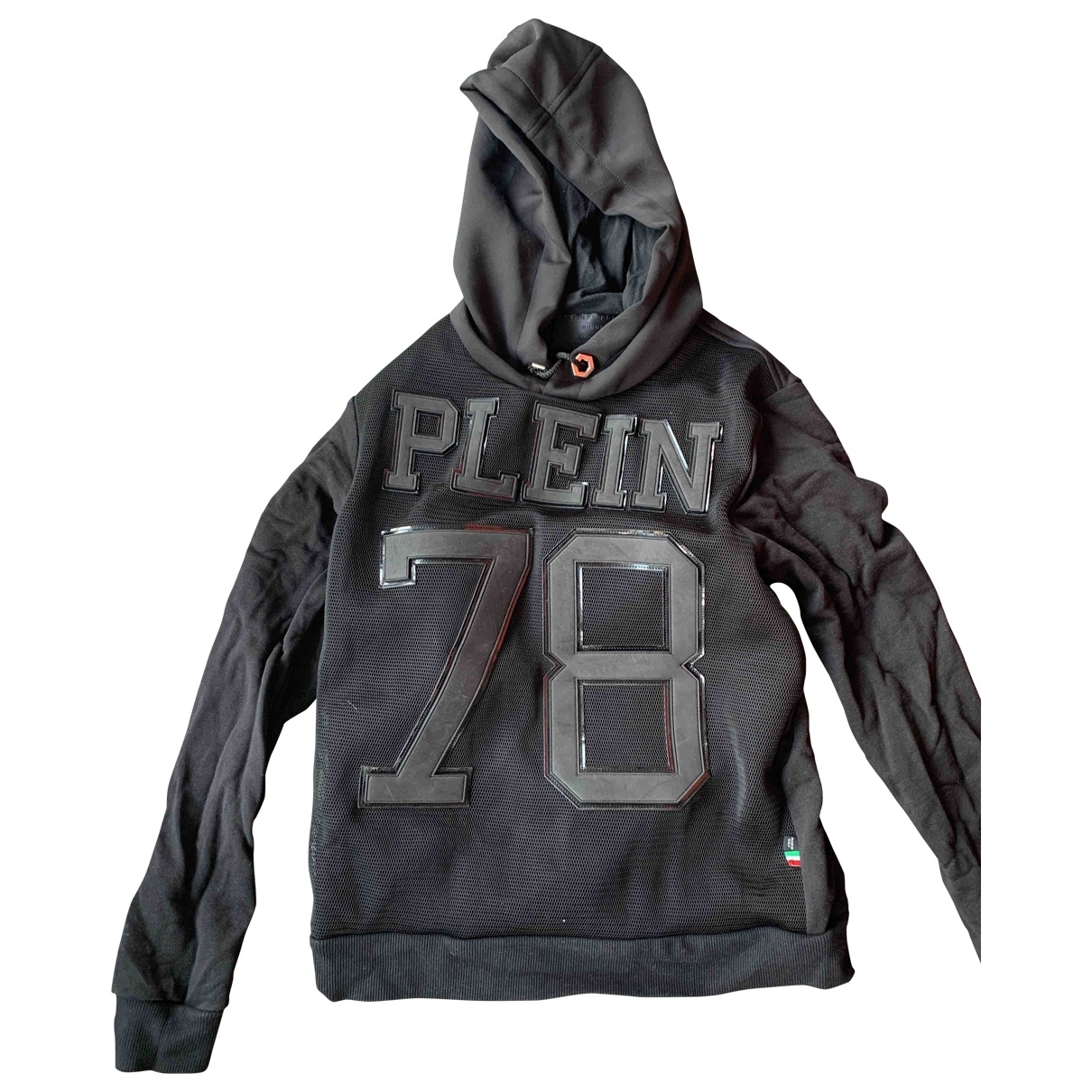 Philipp Plein \N Black Cotton Knitwear & Sweatshirts for Men XS International