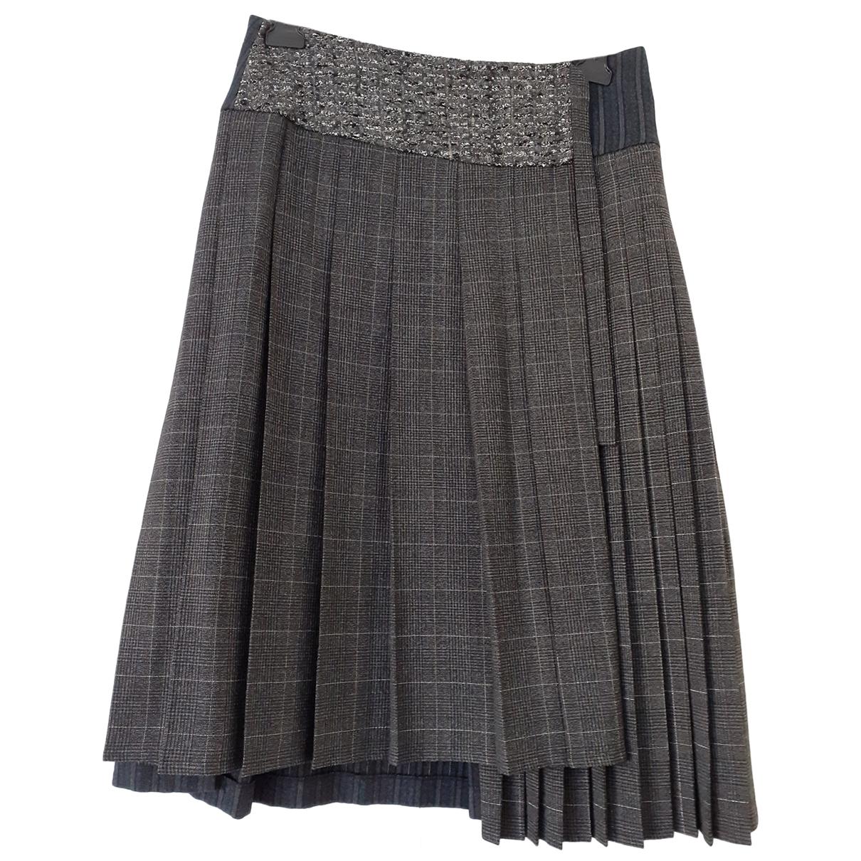 Antonio Marras - Jupe   pour femme en laine - anthracite