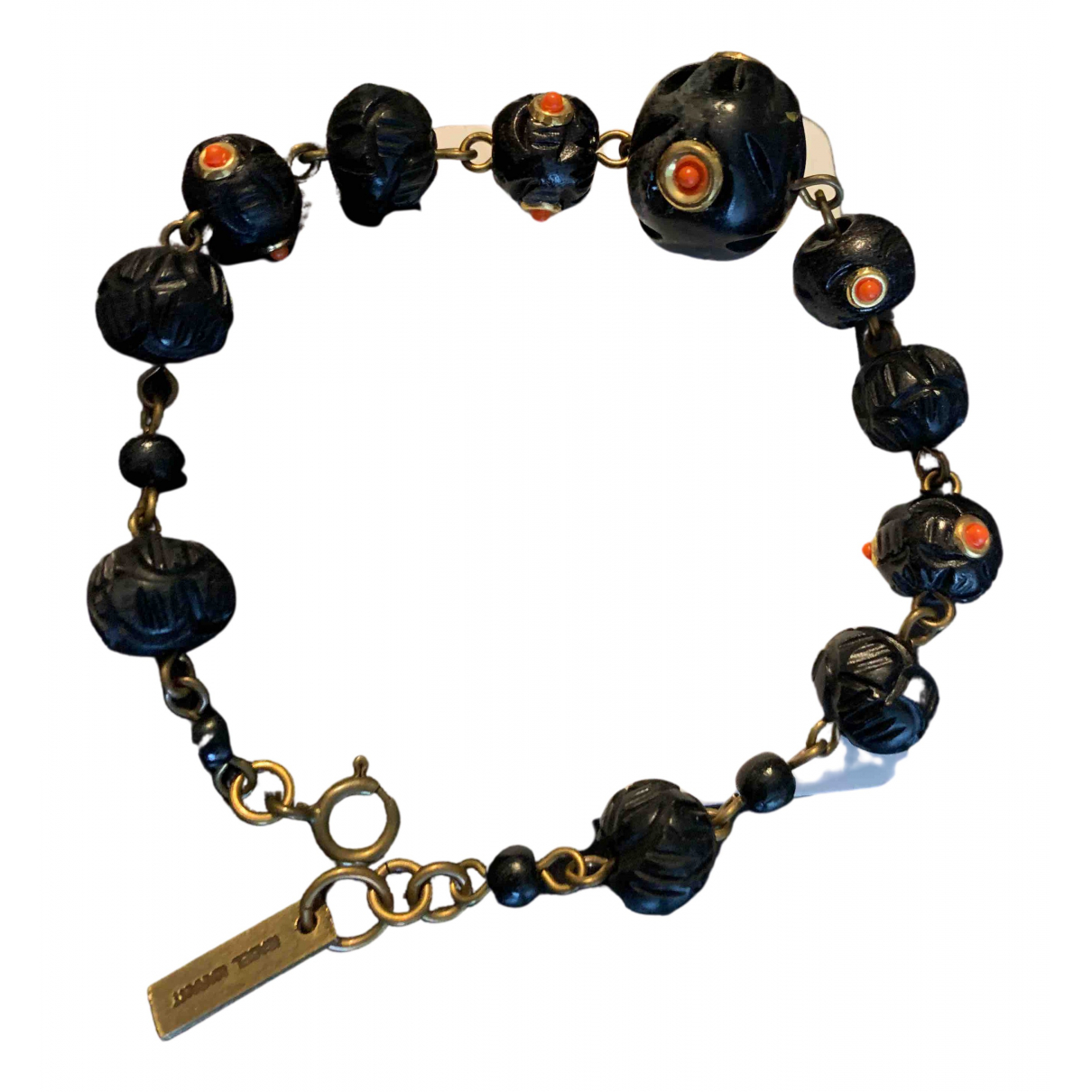 Isabel Marant - Bracelet   pour femme en metal - noir