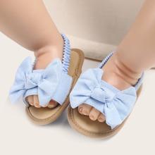 Baby Maedchen Sandalen mit Schleife Dekor
