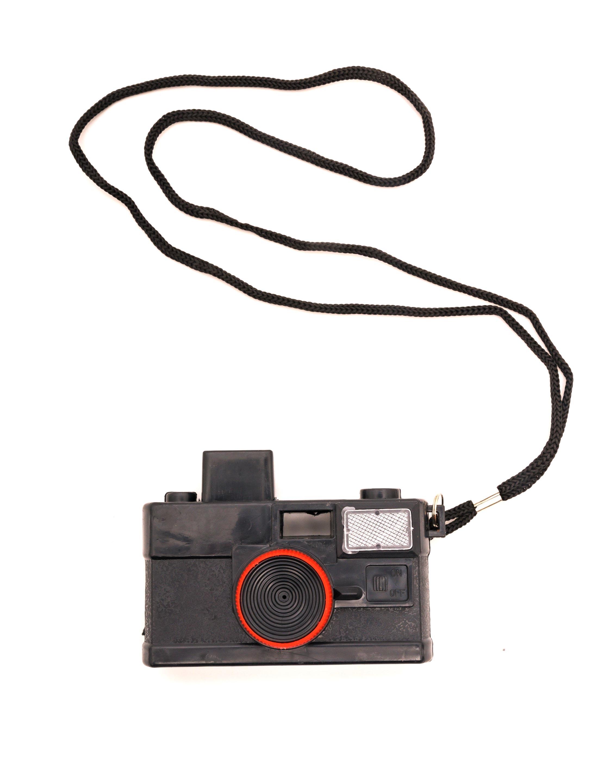Kostuemzubehor Kamera mit Spritzfunktion Farbe: schwarz