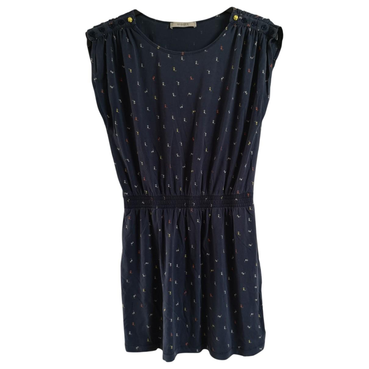 Sessun \N Navy Cotton dress for Women L International