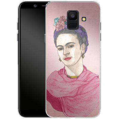 Samsung Galaxy A6 Silikon Handyhuelle - Frida von Barruf
