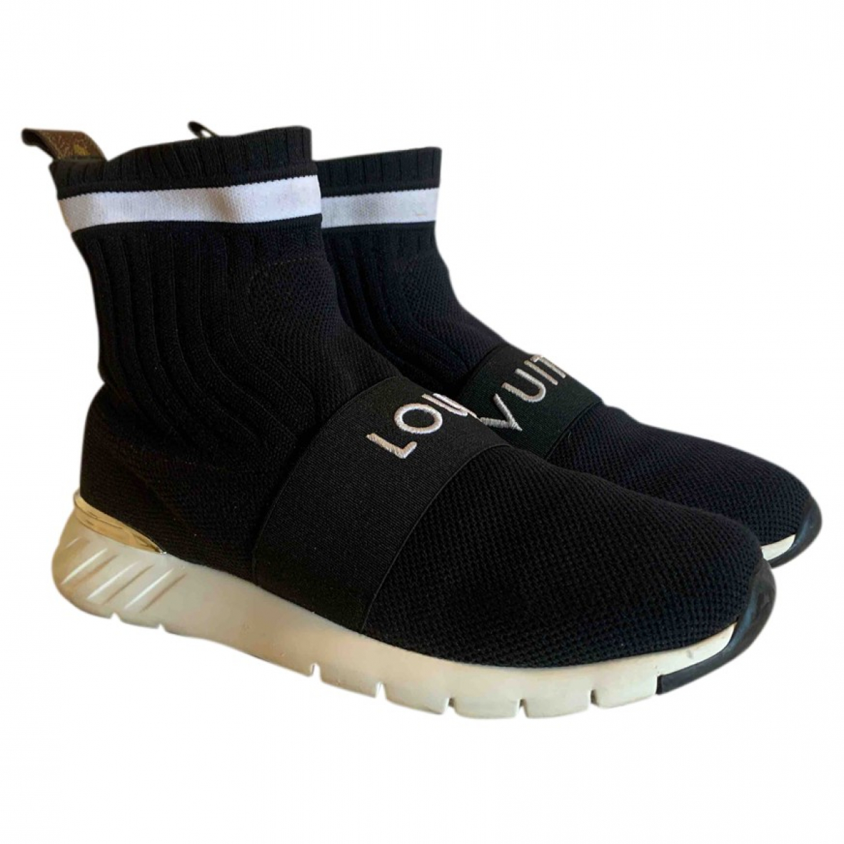 Louis Vuitton Montant Aftergame Sneakers in  Schwarz Polyester