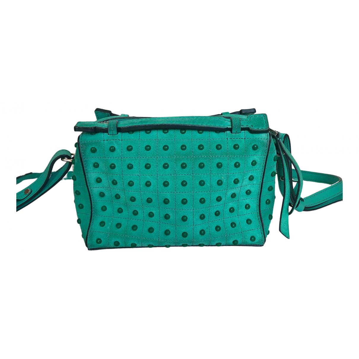 Tod's \N Green Suede handbag for Women \N