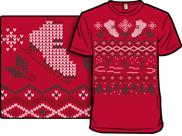 Ugly Holiday Sweater: 2008 T Shirt
