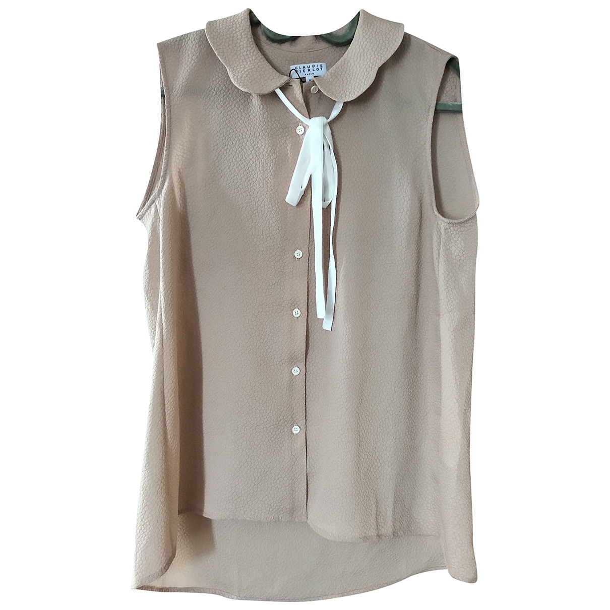 Claudie Pierlot \N Beige  top for Women 36 FR