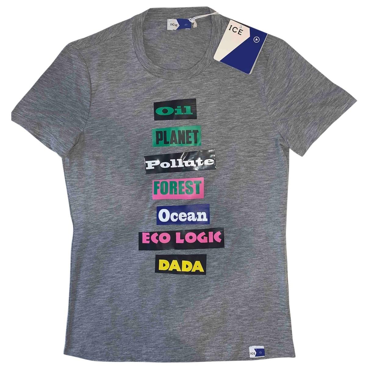 Iceberg \N T-Shirts in  Grau Baumwolle