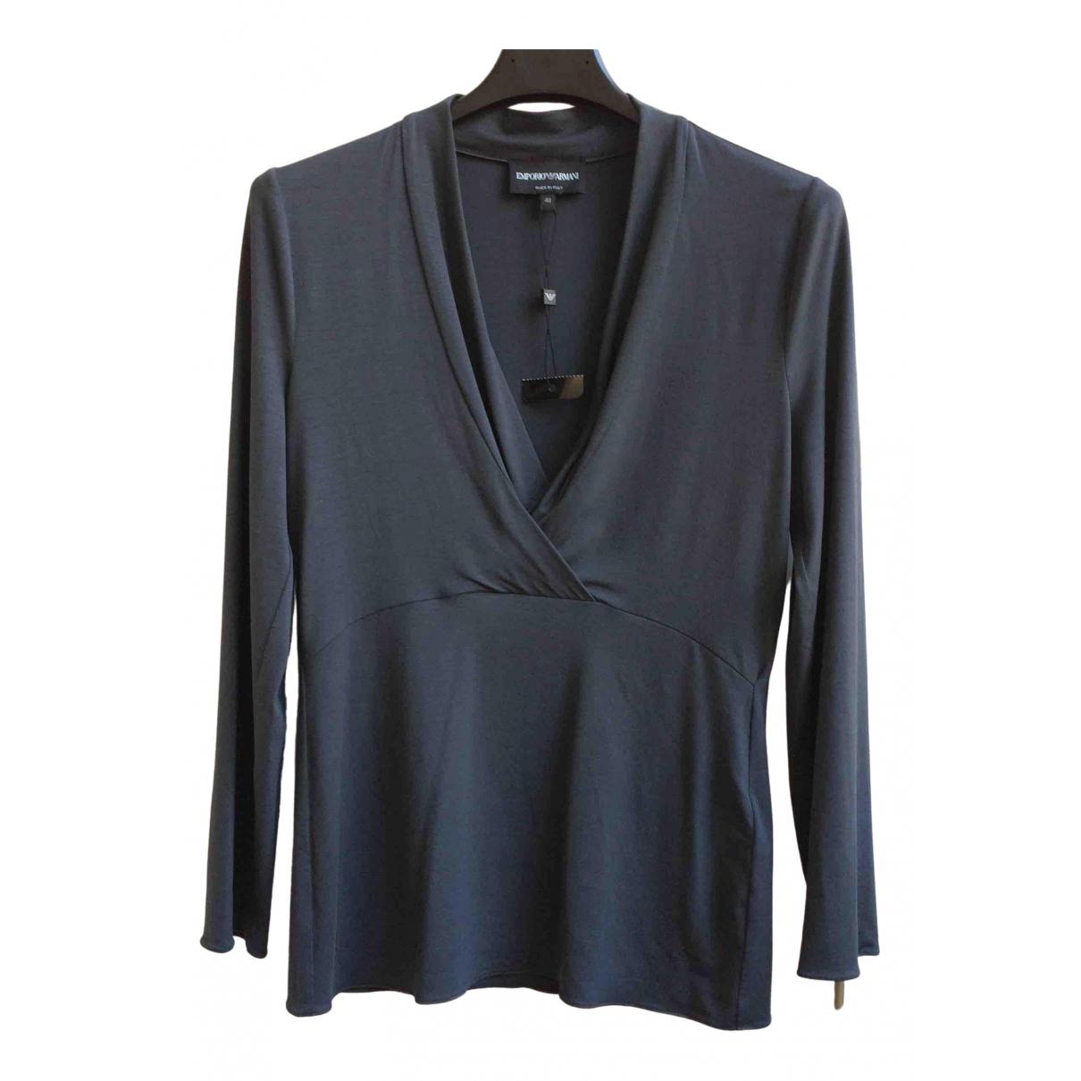 Emporio Armani \N Grey  top for Women 40 IT