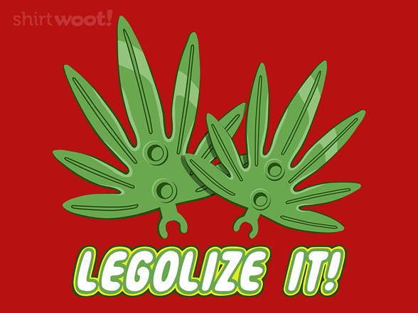 Legolize It! Remix T Shirt