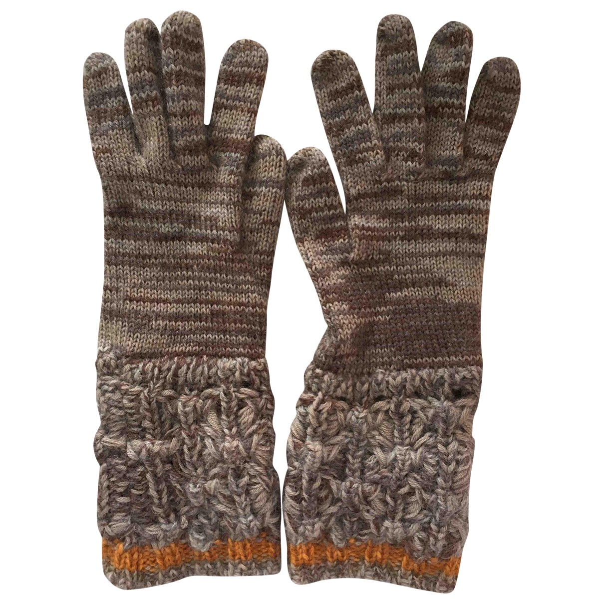 Missoni \N Grey Wool Gloves for Women S International