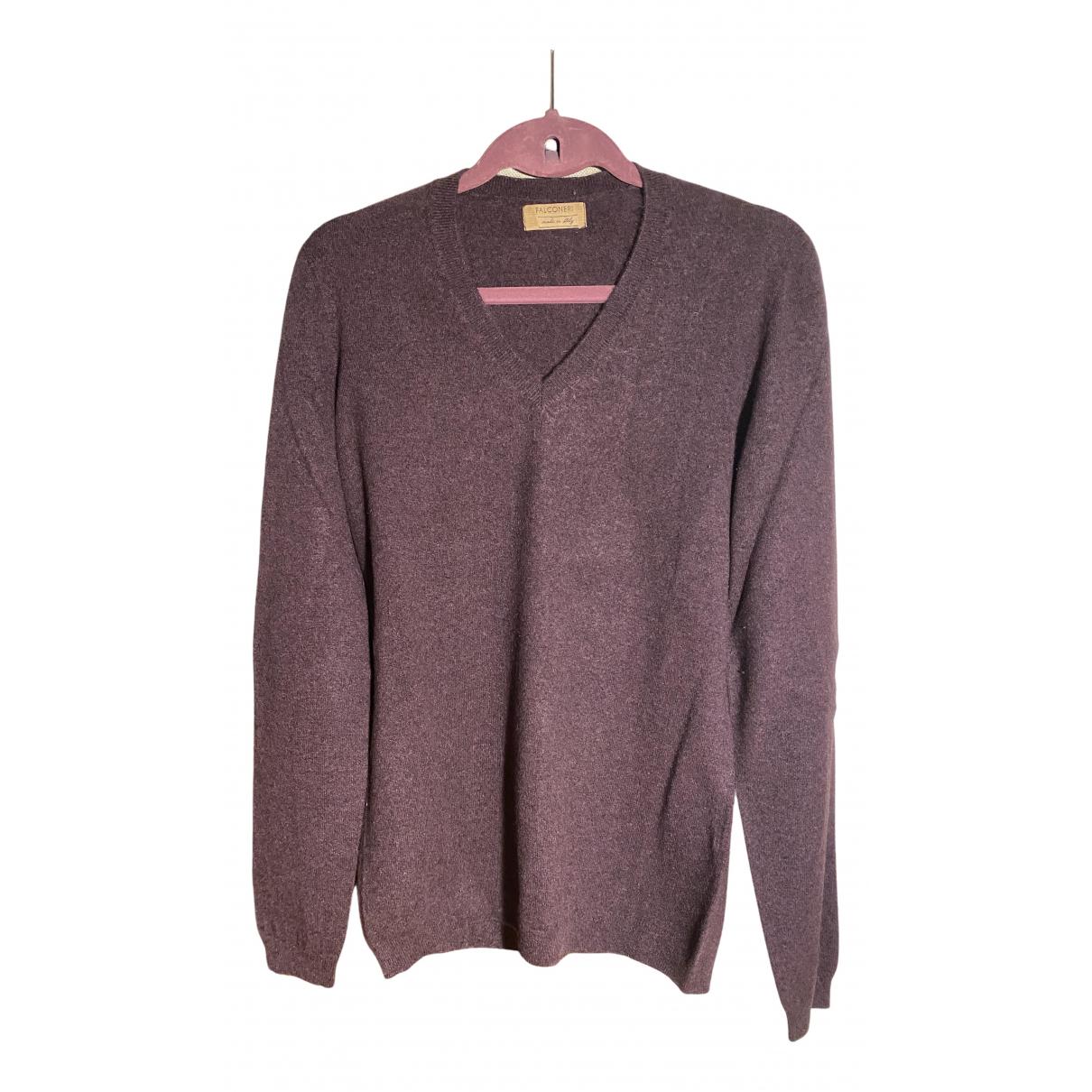 Falconeri - Pull   pour femme en cachemire - violet
