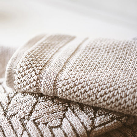 JCP Home 4 EVR Fresh Solid Charcoal Infused Bath Towel, One Size , Beige