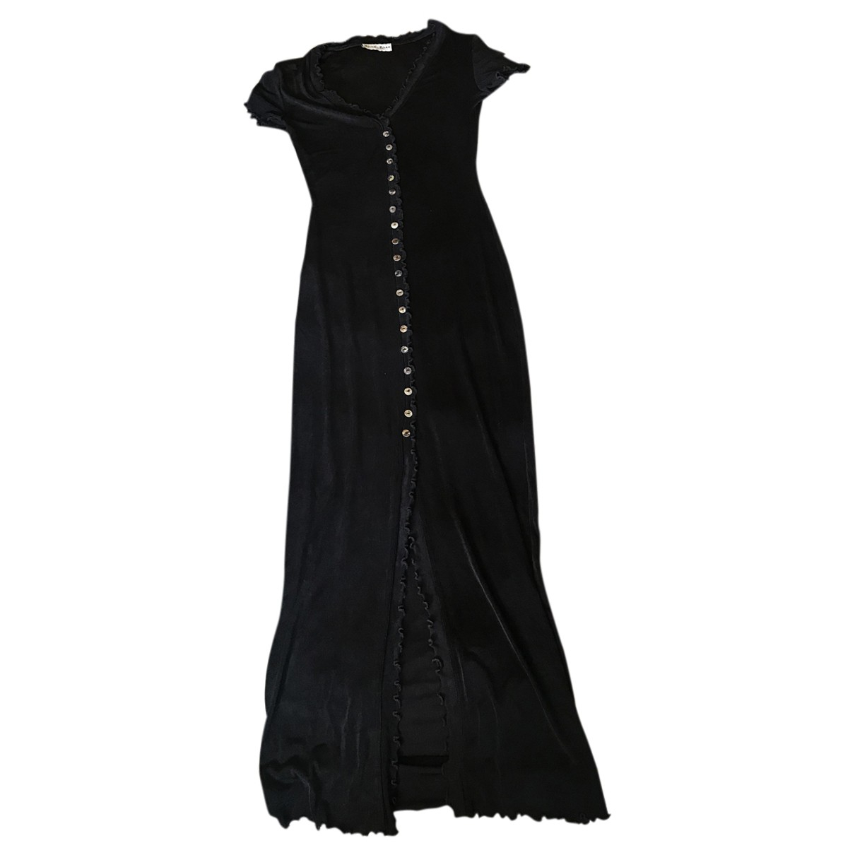Non Signé / Unsigned N Black dress for Women 36 FR