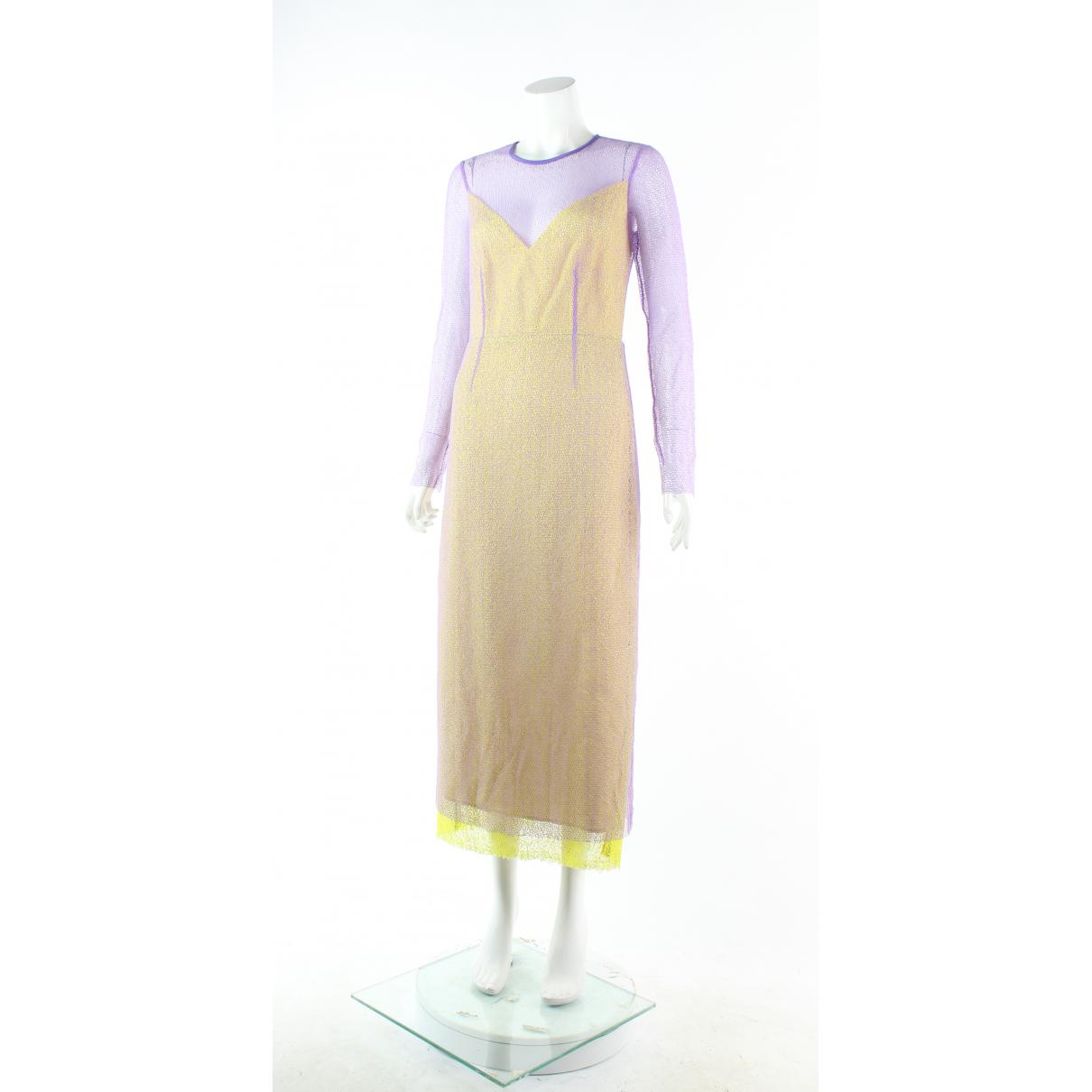 Diane Von Furstenberg - Robe   pour femme en coton - violet