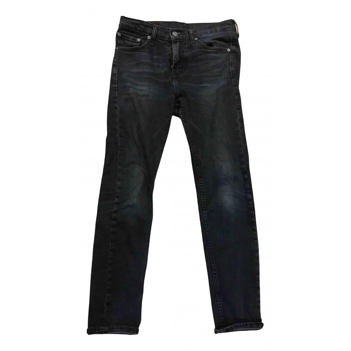 Levi's 510 Blue Cotton Jeans for Men 29 US