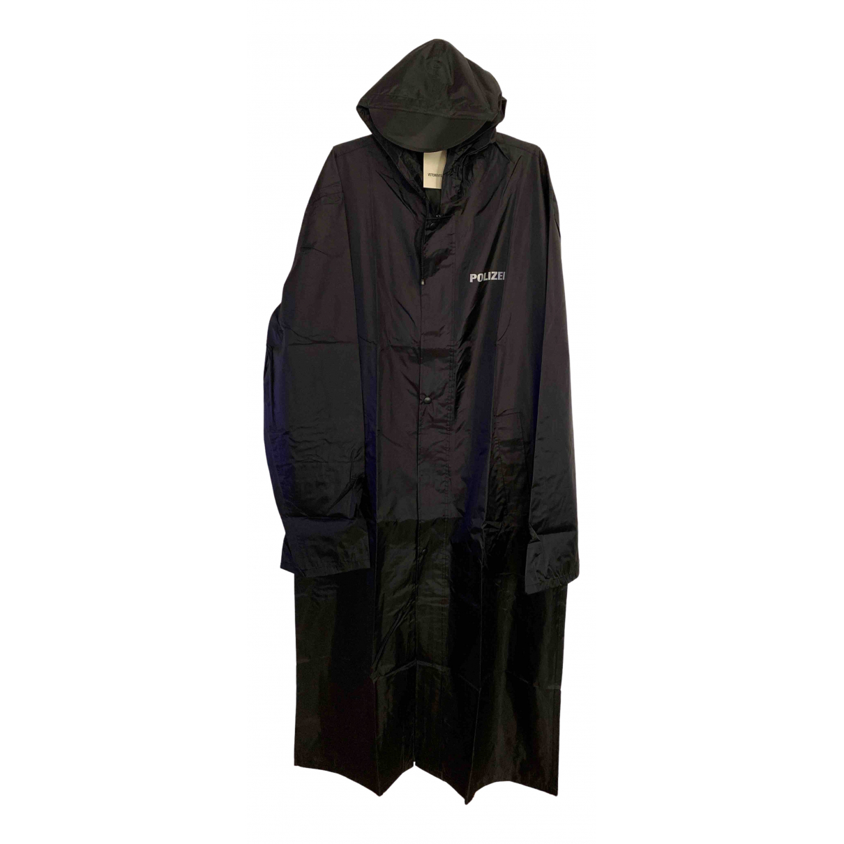 Vetements - Manteau   pour femme - noir