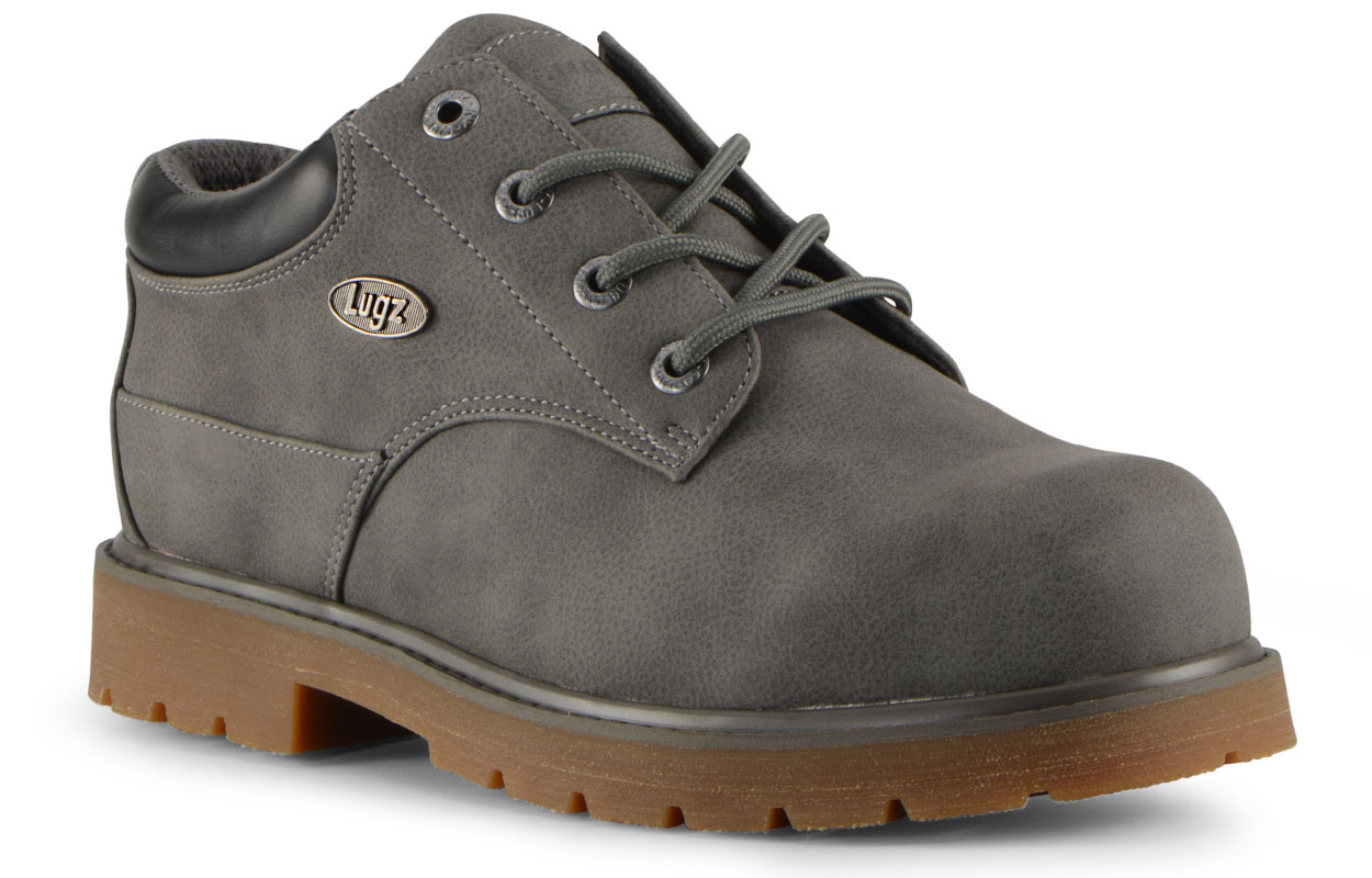 Men's Drifter Lo Lx Oxford Boot (Choose Your Color: CHARCOAL/BLACK/GUM, Choose Your Size: 9.0)