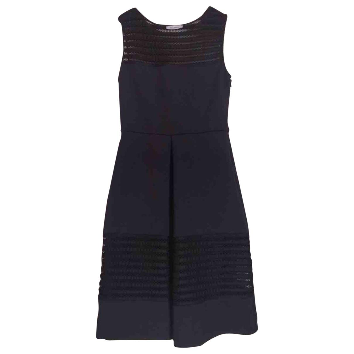 Max & Co \N Blue Cotton - elasthane dress for Women XS International