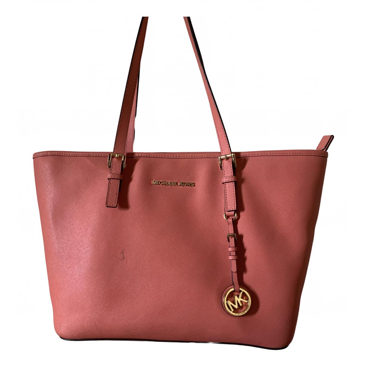 Michael Kors N Pink Leather handbag for Women N