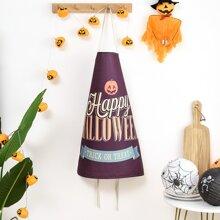 Halloween Schuerze mit Buchstaben Grafik