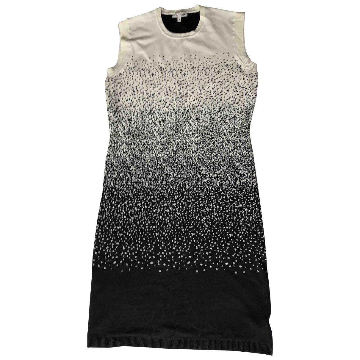 Dion Lee \N Kleid in  Schwarz Viskose