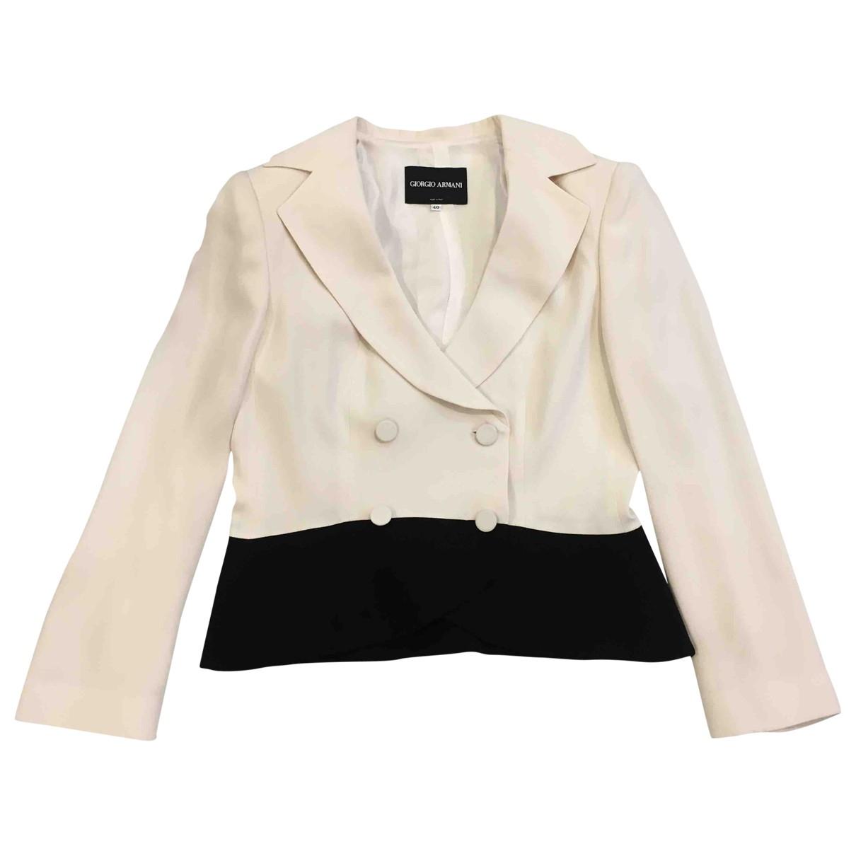 Giorgio Armani \N Multicolour Silk jacket for Women 40 IT