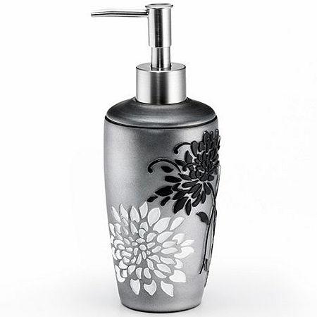 Erica Soap Dispenser, One Size , Gray