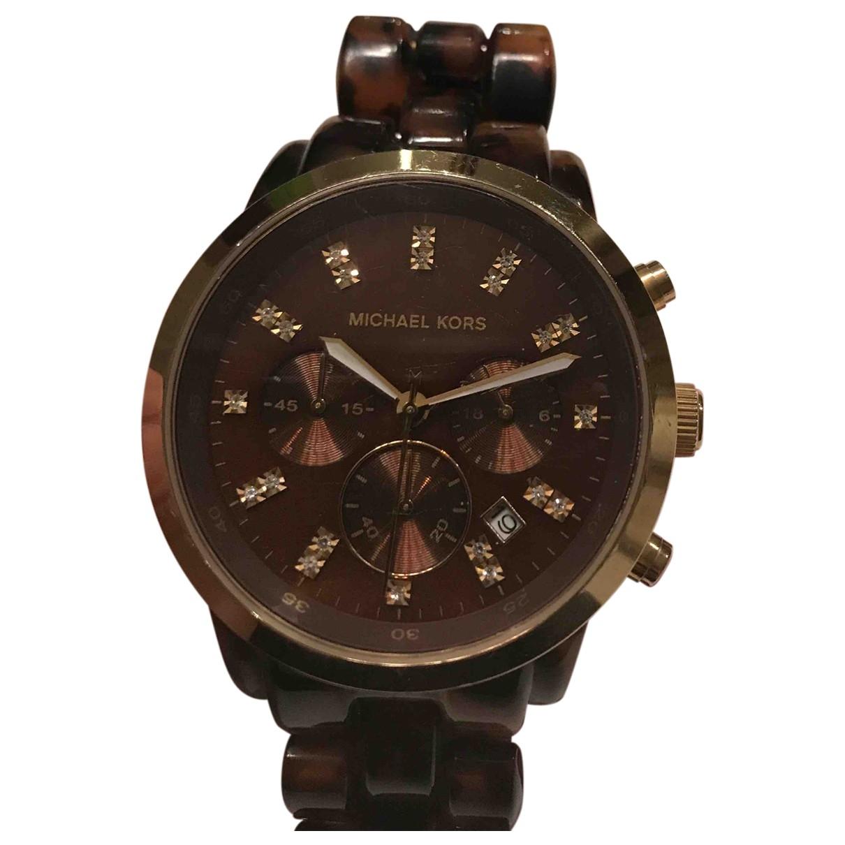 Michael Kors \N Brown Ceramic watch for Women \N