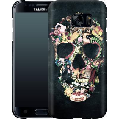 Samsung Galaxy S7 Smartphone Huelle - Vintage Skull von Ali Gulec