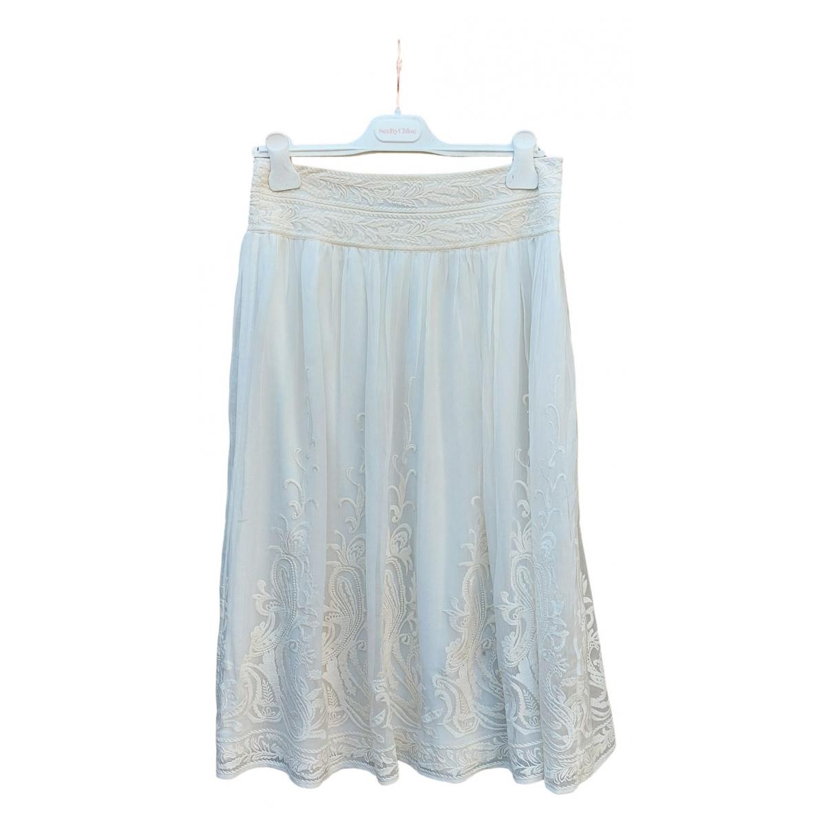 Massimo Dutti - Jupe   pour femme en coton