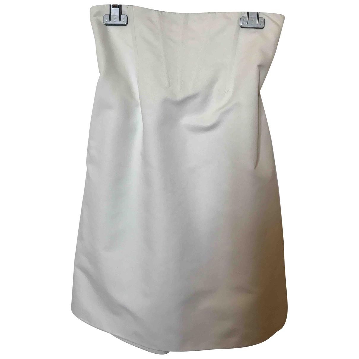 La Perla - Jupe   pour femme en coton - blanc