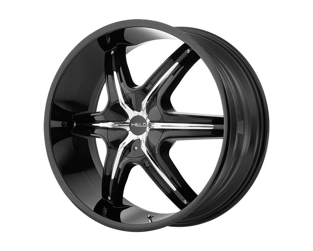 Helo HE891 Wheel 20x8.5 5x5x115/5x120.65 +10mm Gloss Black