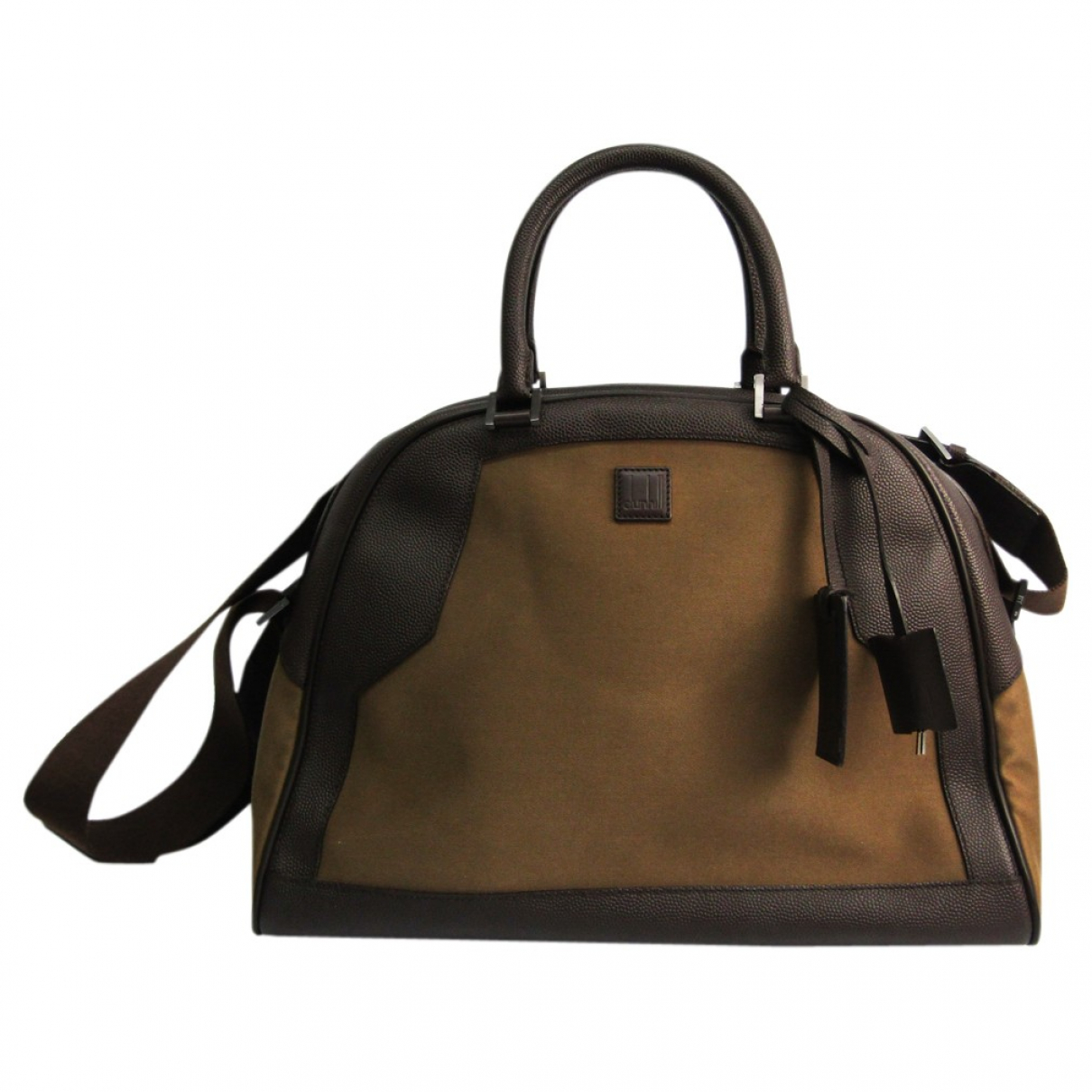 Alfred Dunhill N Brown Leather bag for Men N