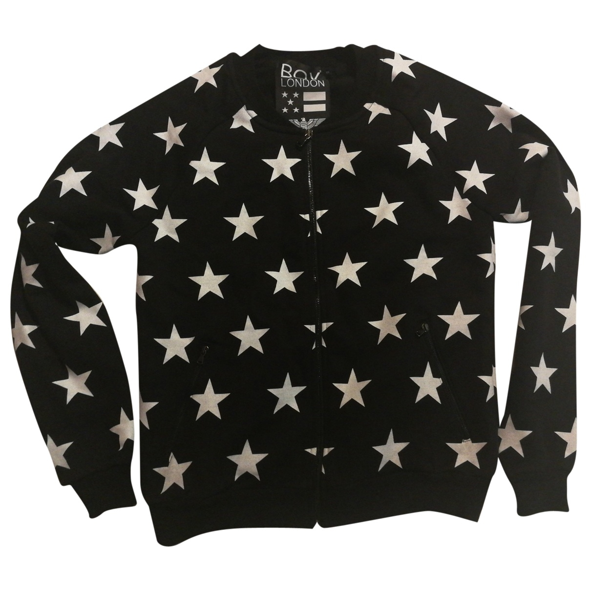 Boy London \N Pullover.Westen.Sweatshirts  in  Schwarz Baumwolle