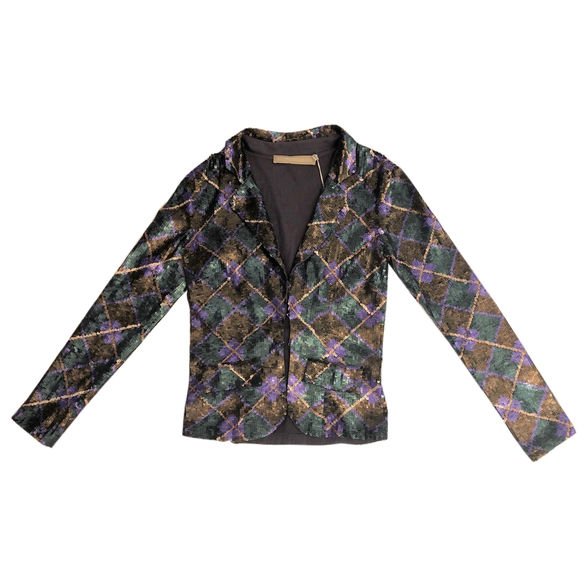 Non Signé / Unsigned \N Multicolour Glitter jacket for Women 40 IT
