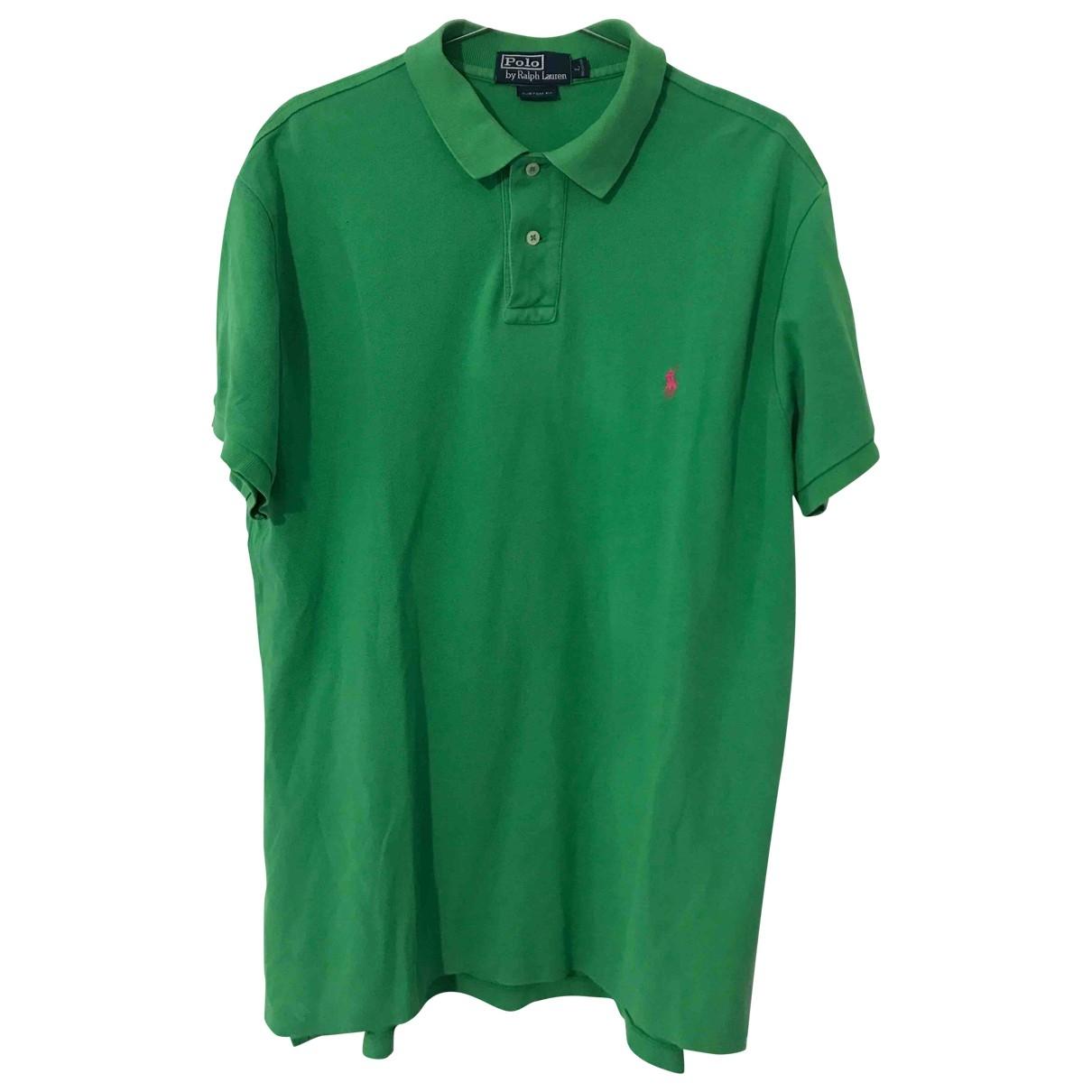 Polo Ralph Lauren - Polos   pour homme en coton - vert