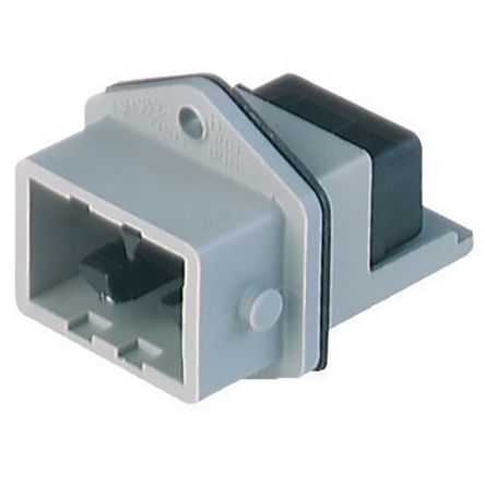 Lumberg Automation , ST IP54 Grey Front Mount 5+PE Industrial Power Plug, Rated At 10.0A, 400.0 V (100)