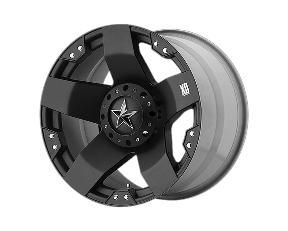 XD Series XD77521080324 XD775 Rockstar Wheel 20x10 8x8x165.1 -24mm Matte Black