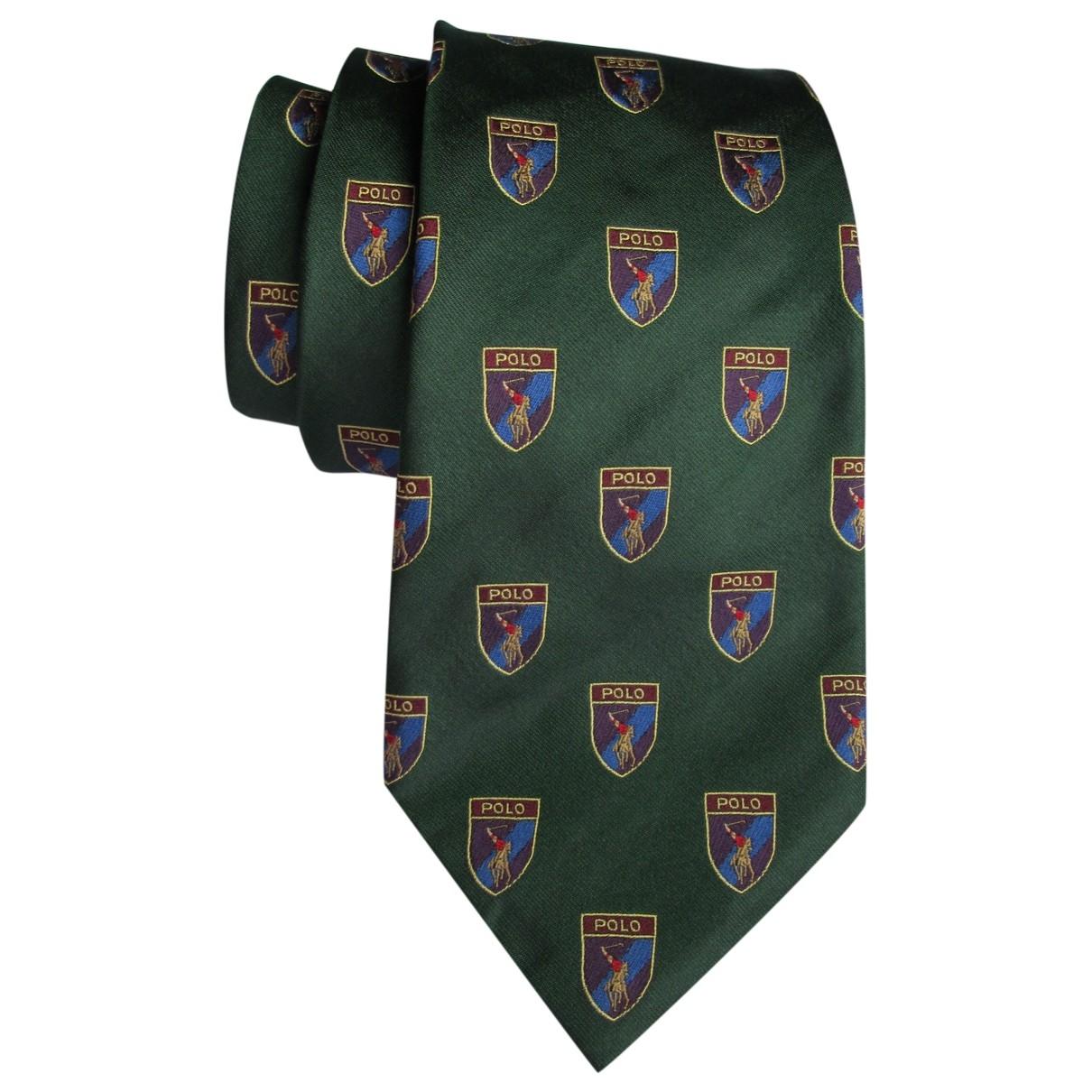 Polo Ralph Lauren \N Krawatten in  Gruen Seide
