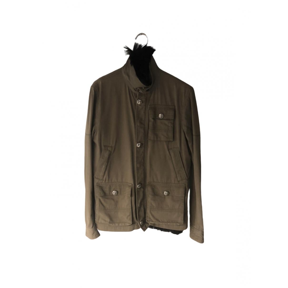 Chrome Hearts \N Jacke in  Khaki Polyester